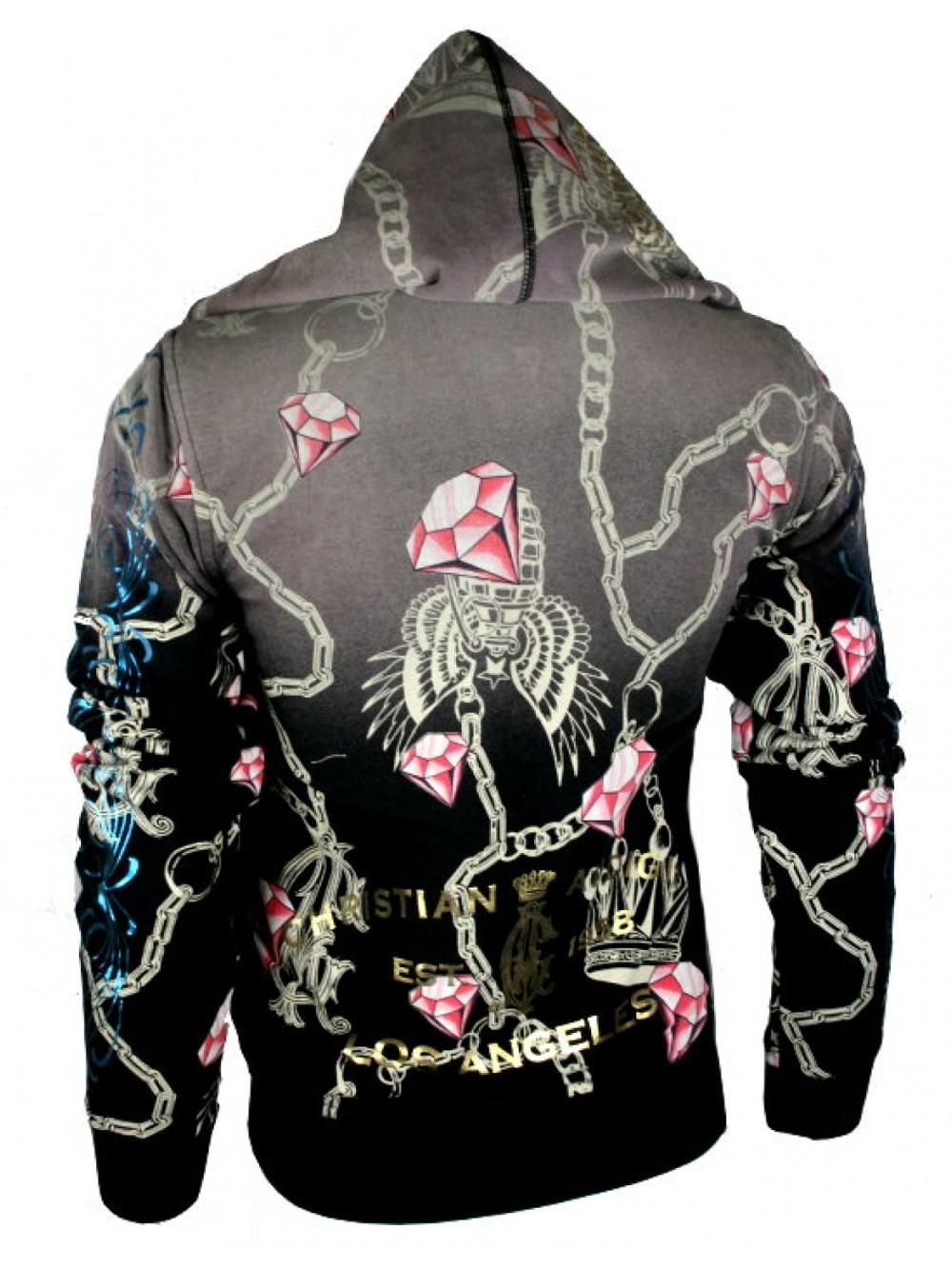 Christian audigier hoodie