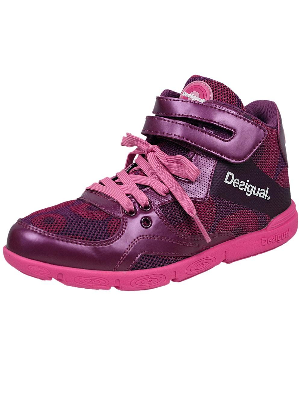 Desigual Damen Sneaker high Muevete (lila)