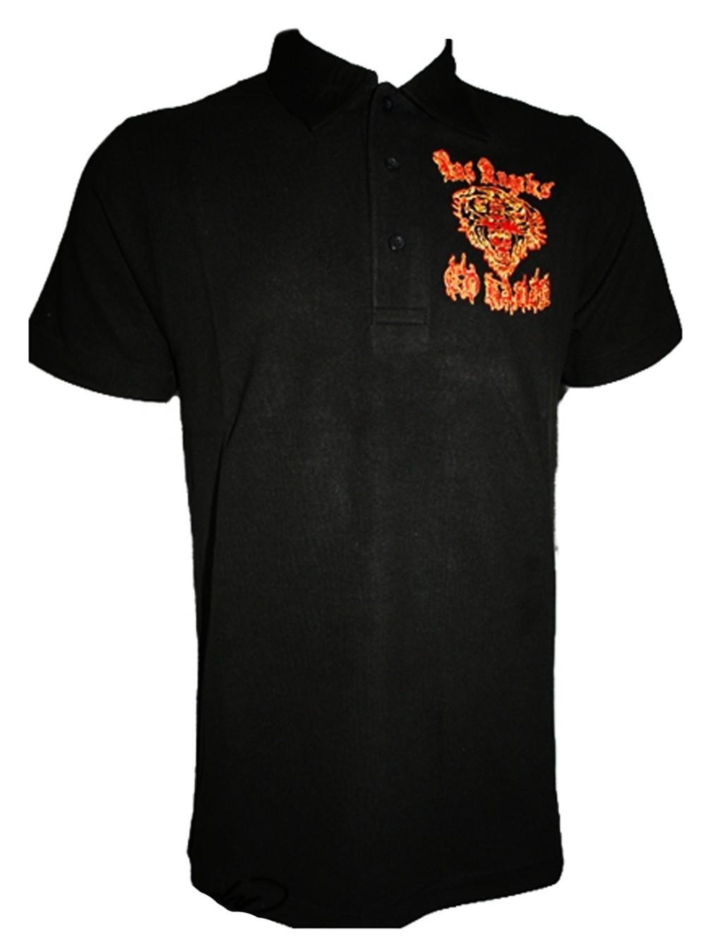 Herren Club Polo Shirt Crown Tiger