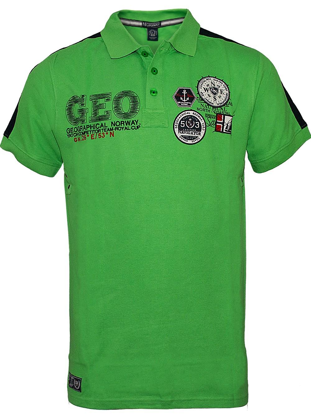 2f9208b83775ea Herren Poloshirt Katal (grün)