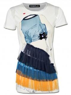 Desigual by Lacroix Damen Shirt The Love Supreme (XL)