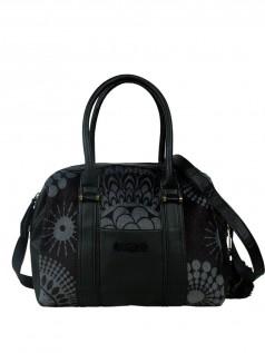 Handtaschen - Desigual Damen Handtasche Malta Printed Fur (schwarz)  - Onlineshop Brandlots