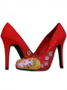 Highheels - Ed Hardy Damen High Heel Schuh Hollywood (37)  - Onlineshop Brandlots