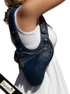 Schultertaschen - Punani Revolverbag Tasche Blau Kontrast  - Onlineshop Brandlots