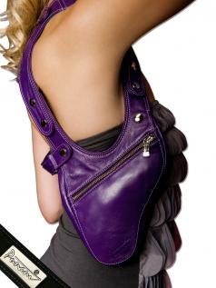 Schultertaschen - Punani Revolverbag Tasche Violett Kontrast  - Onlineshop Brandlots