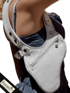 Schultertaschen - Punani Revolverbag Tasche Weiß Kontrast  - Onlineshop Brandlots